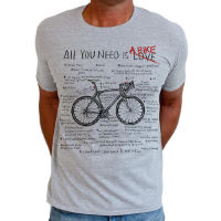 Cycology All You Need T-shirt - Herr