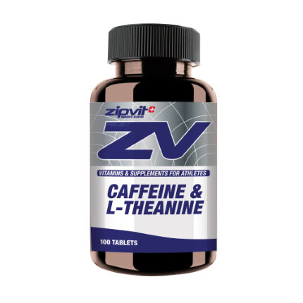 ZipVit Sport Caffeine (200mg) + L-Theanine (50mg) - 100 Tablets