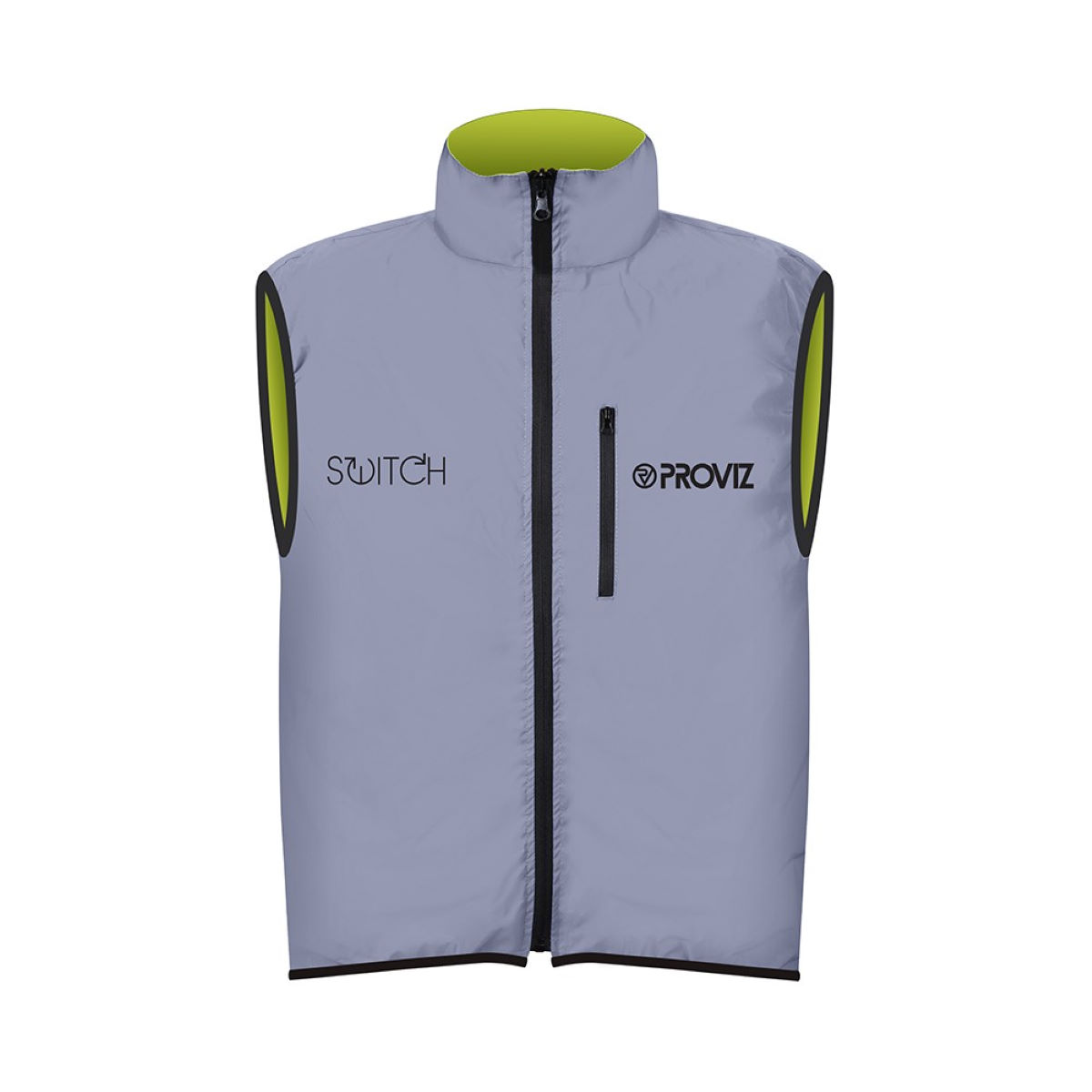 Gilet Proviz Switch (sans manches) - Small Reflective/Yellow