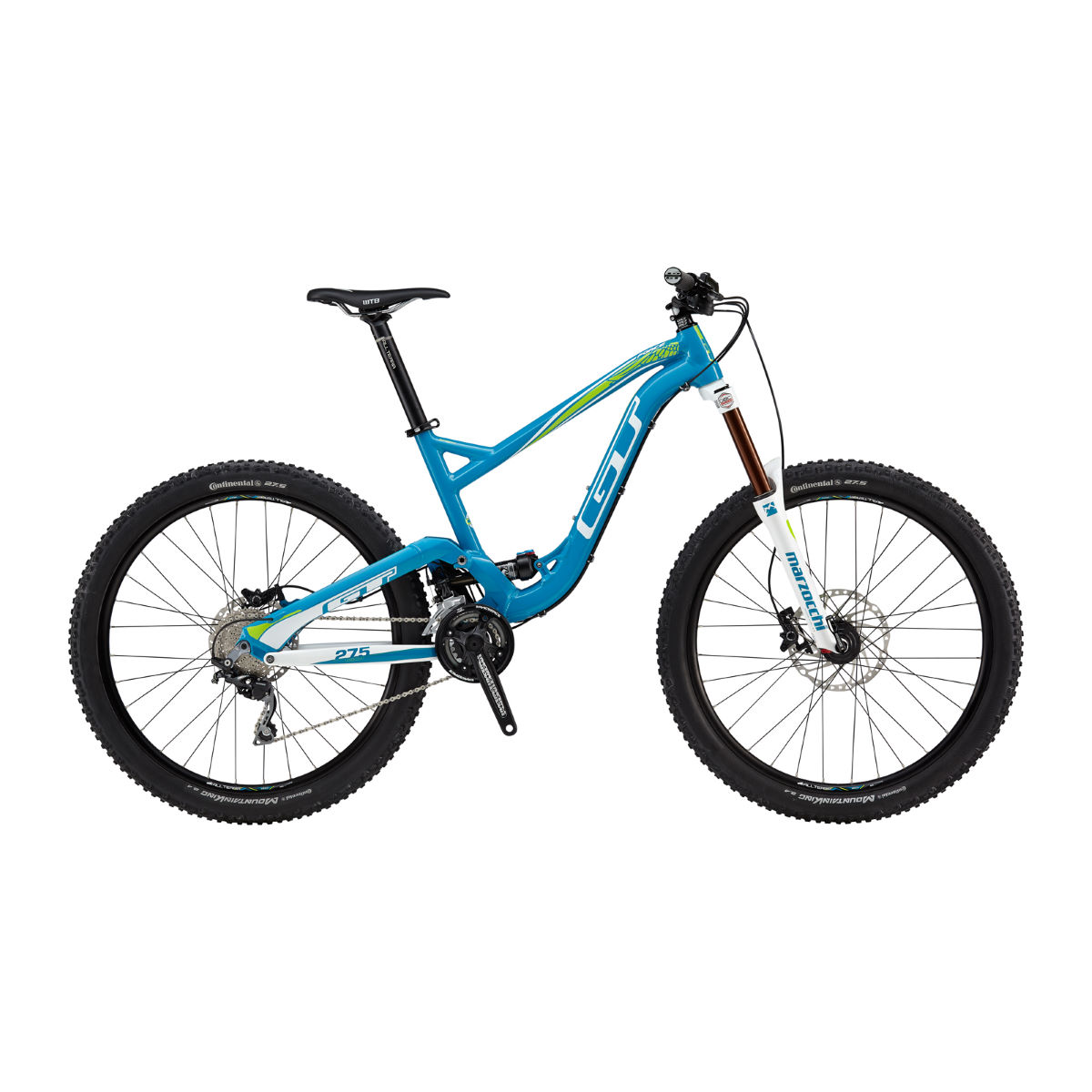 GT Force X Sport (2016) Mountain Bike - M Stock Bike Blue/white VTT tout suspendu