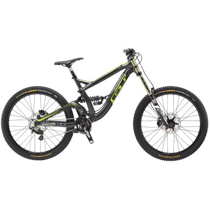 GT Fury Expert mountainbike (gun gloss, 2015)