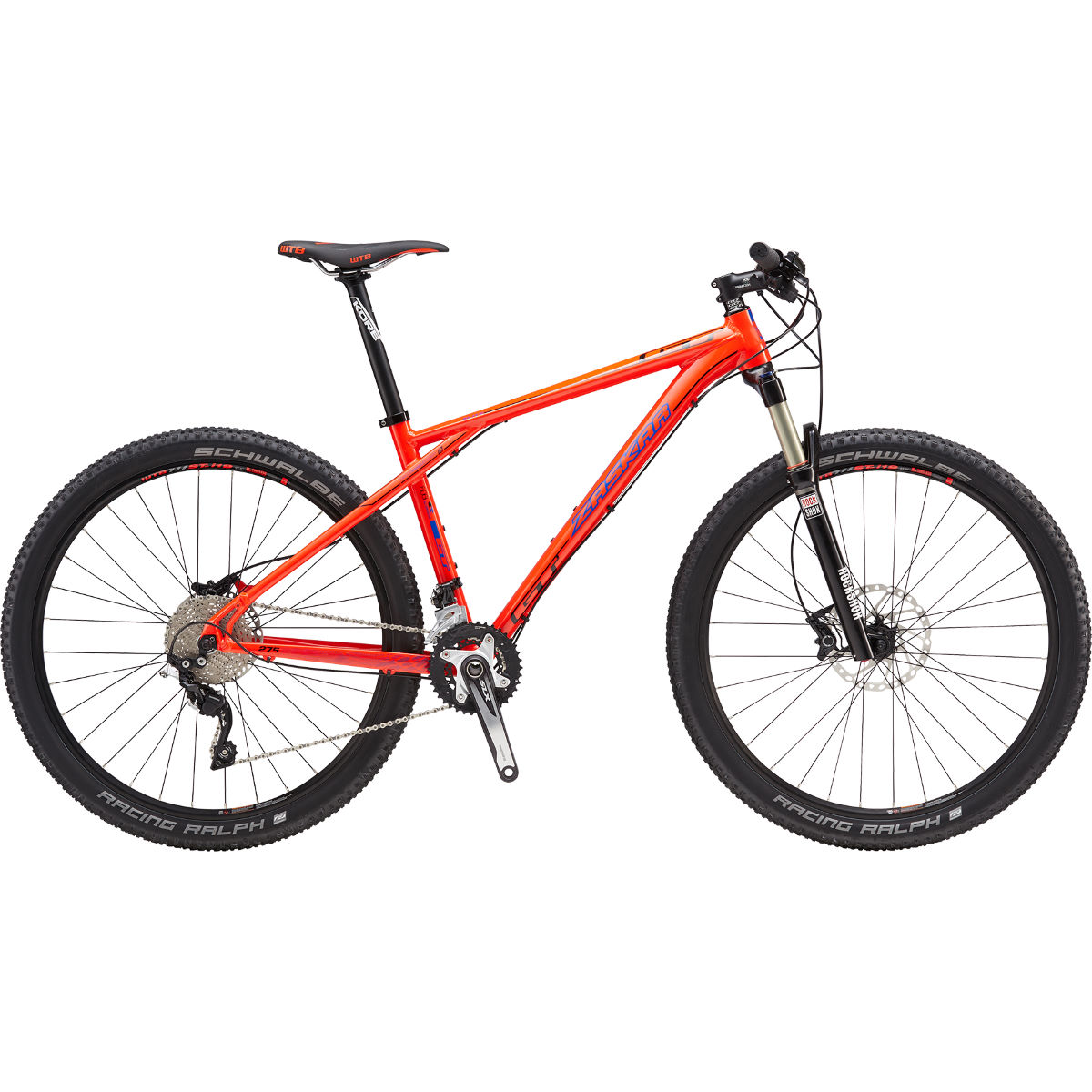 VTT GT Zaskar Elite (2016) - M Stock Bike Orange VTT semi-rigides
