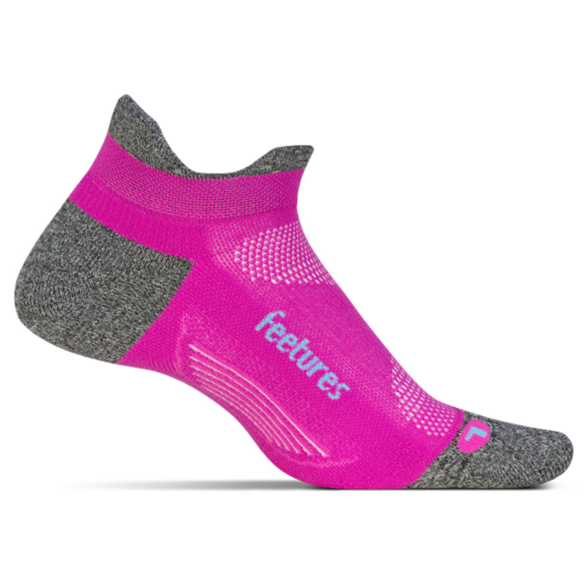 Calcetines Feetures! Elite Light Cushion No Show Tab para mujer - Calcetines para correr