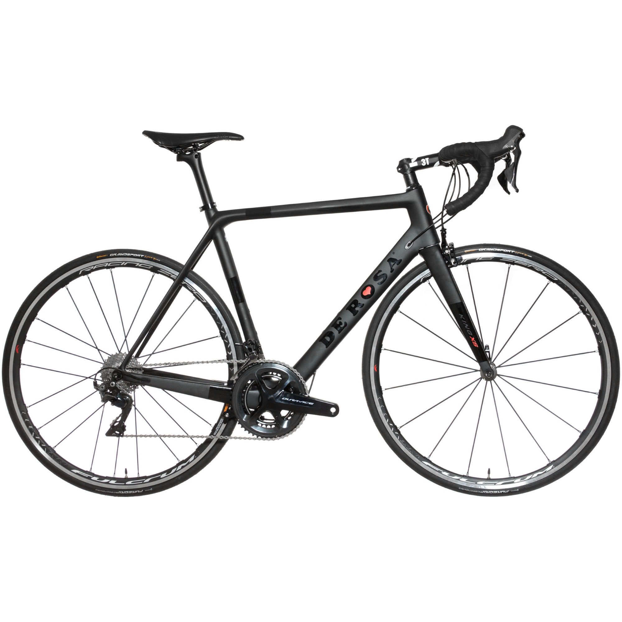 v los de route comp tition de rosa king xs dura ace 9100 2017 road bike wiggle france. Black Bedroom Furniture Sets. Home Design Ideas