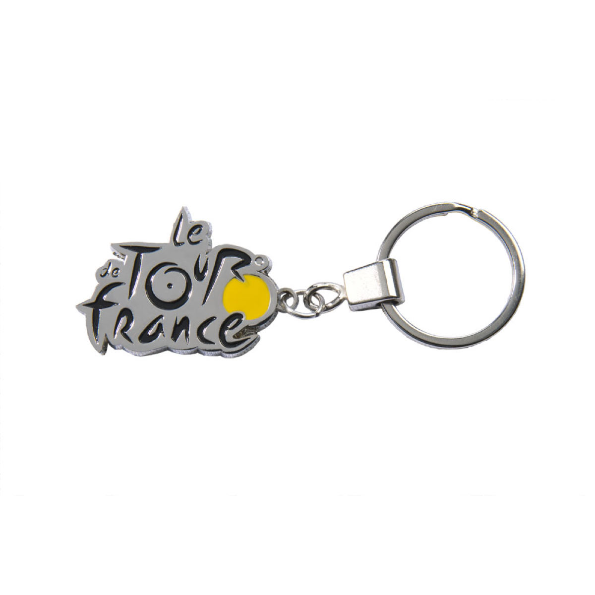 Porte-clés Tour de France Metal Logo - Taille unique Grey