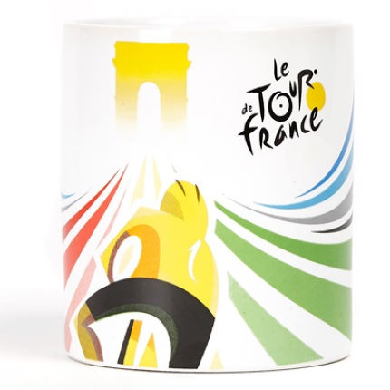 Tasse Tour de France (céramique)