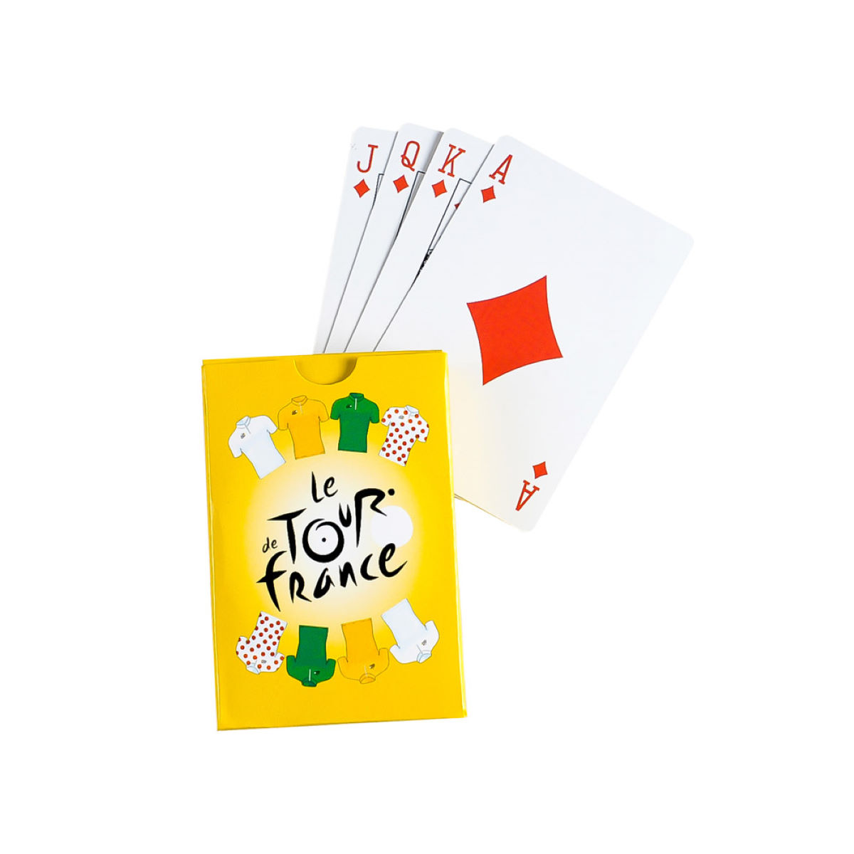 Baraja de cartas Tour de France - Regalos