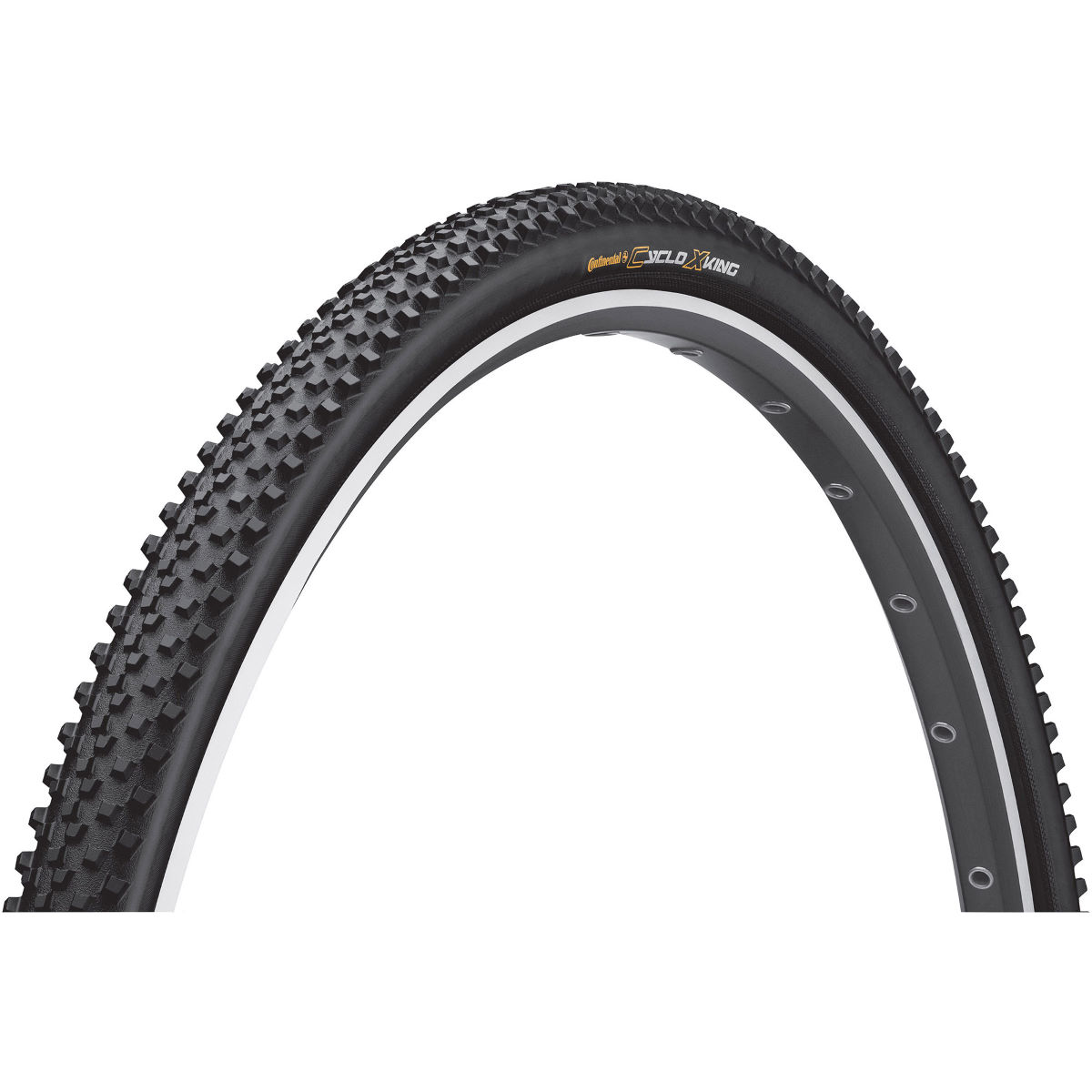 Pneu Continental Cyclo X-King Performance (souple) - 35c 700c Noir
