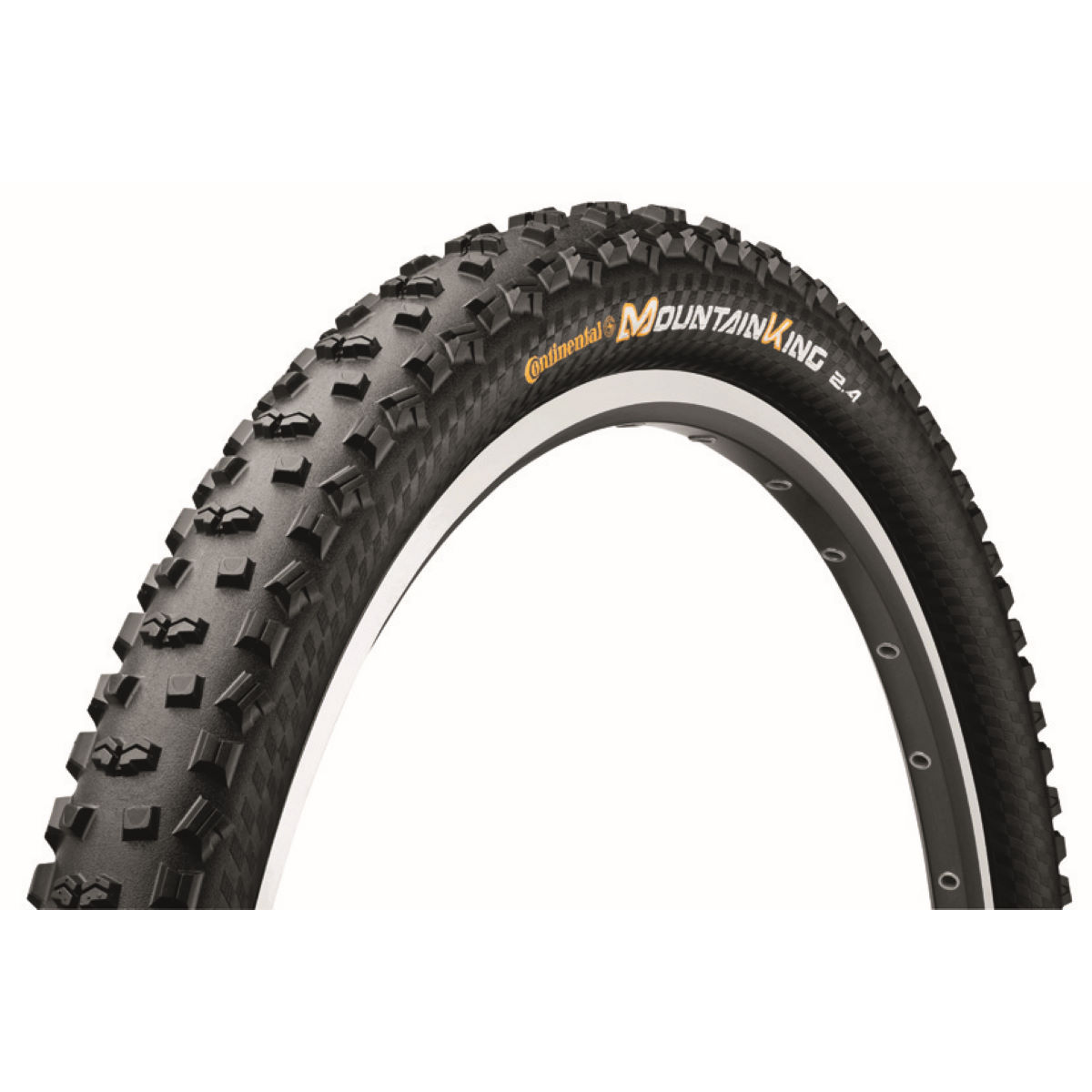Pneu VTT Continental Mountain King II - 2.2 27.5'' Noir Pneus