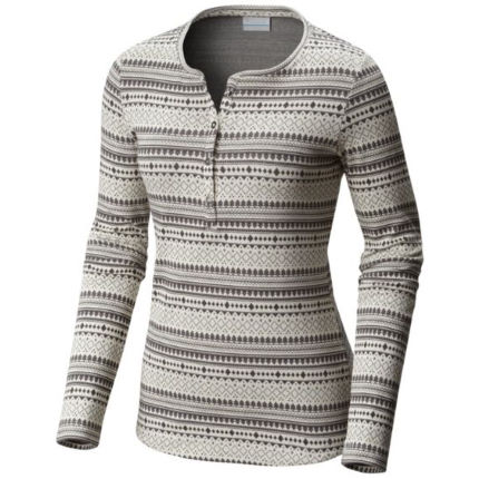 Columbia Women's Aspen Lodge™ Jacquard Henley Top