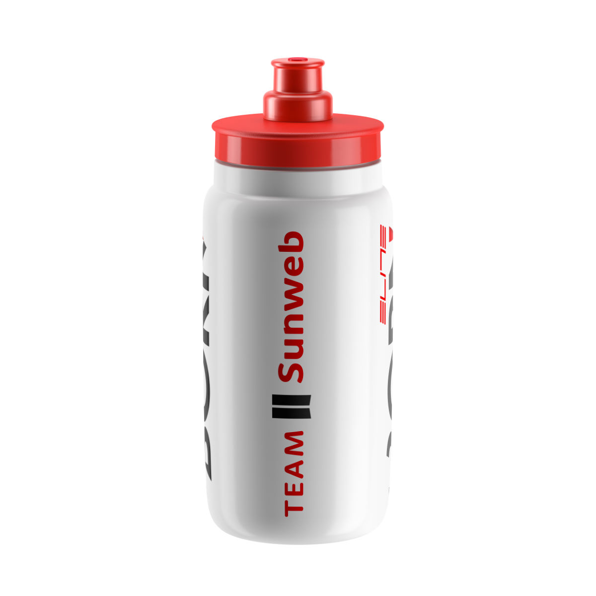 Bidon Elite Fly Sunweb (2017) - One Size White/red Bidons