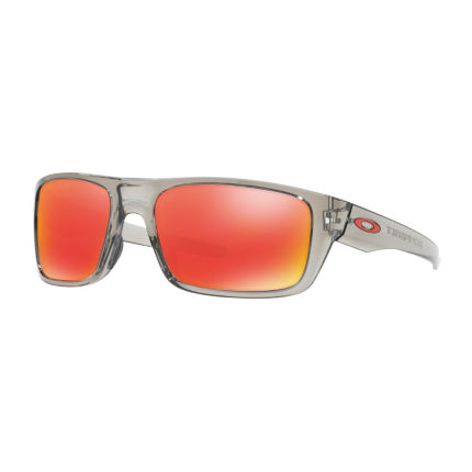 Oakley Drop Point Iridium Sonnenbrille (Ruby Gläser)