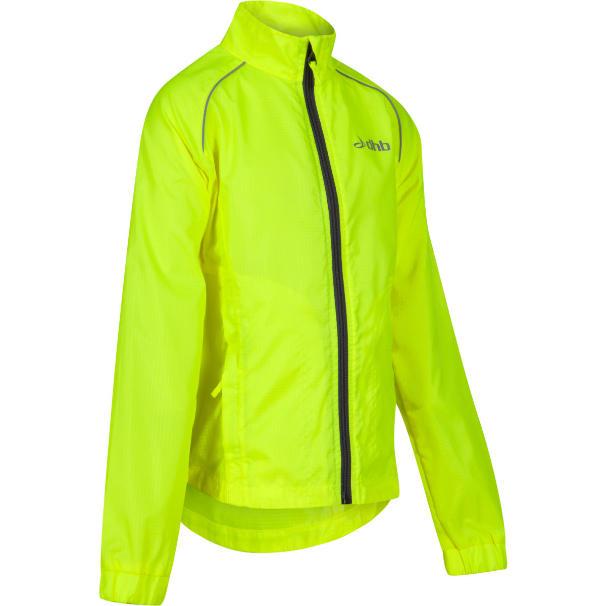 Veste Enfant dhb Hi Viz - 10-12 Years Fluro Yellow Coupe-vents vélo