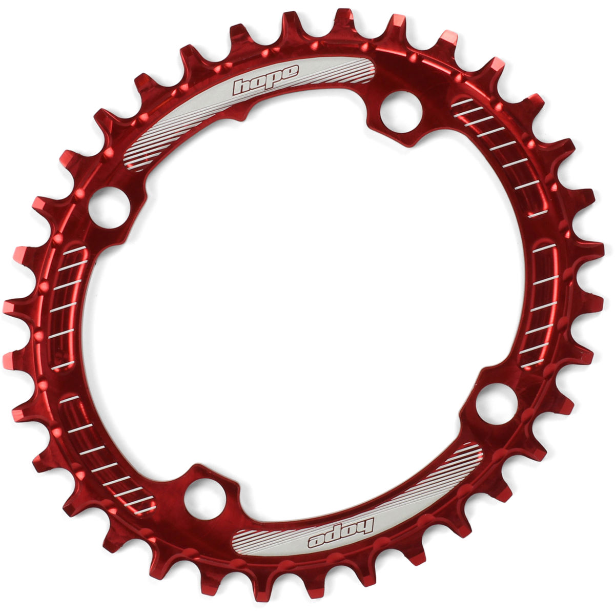 Plateau Hope Oval Retainer - 32T Rouge Plateaux