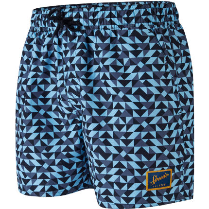 "Speedo Vintage Printed 14"" Watershort"