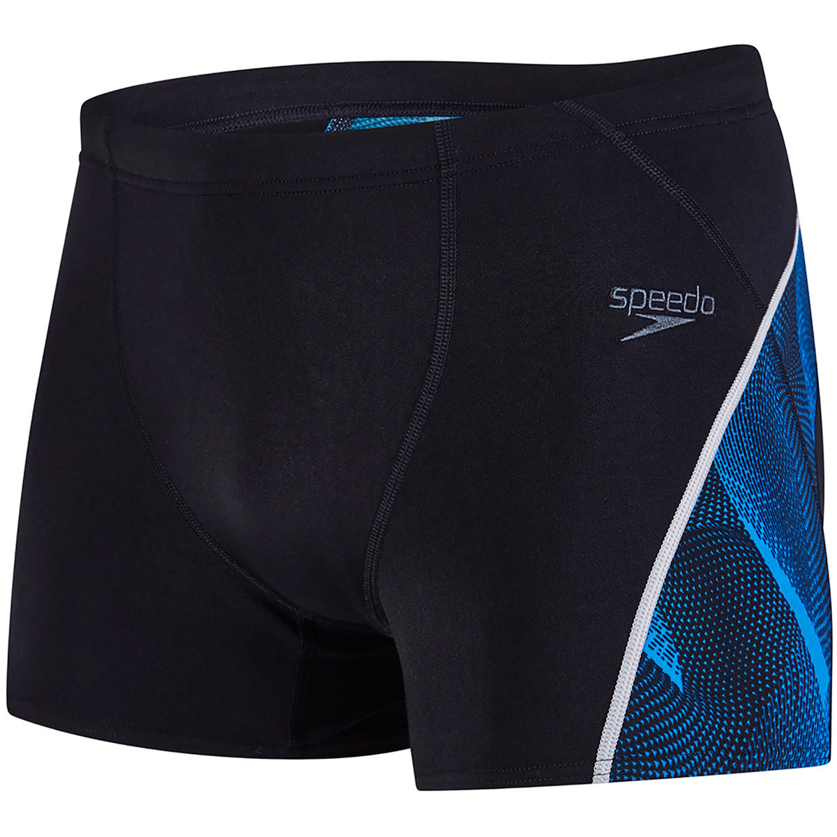 Boxer de bain Speedo Fit Graphic - 34 Black/Danube
