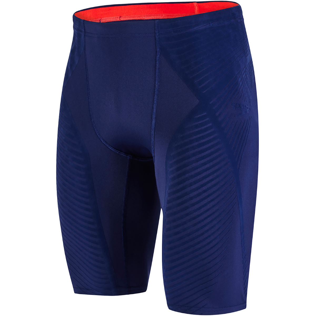 Jammer Speedo Fit Power Form - 34 Navy/Lava Red
