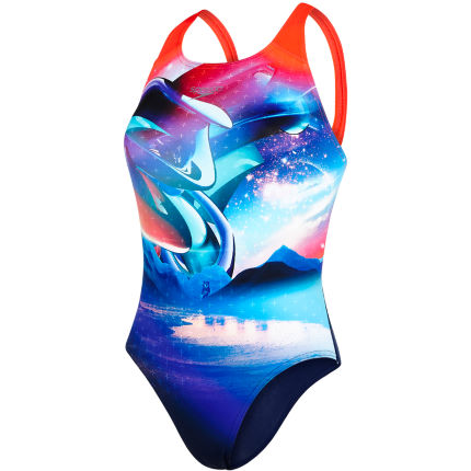 Costume donna Speedo Solar Surface Digital (dorso da vogatore)
