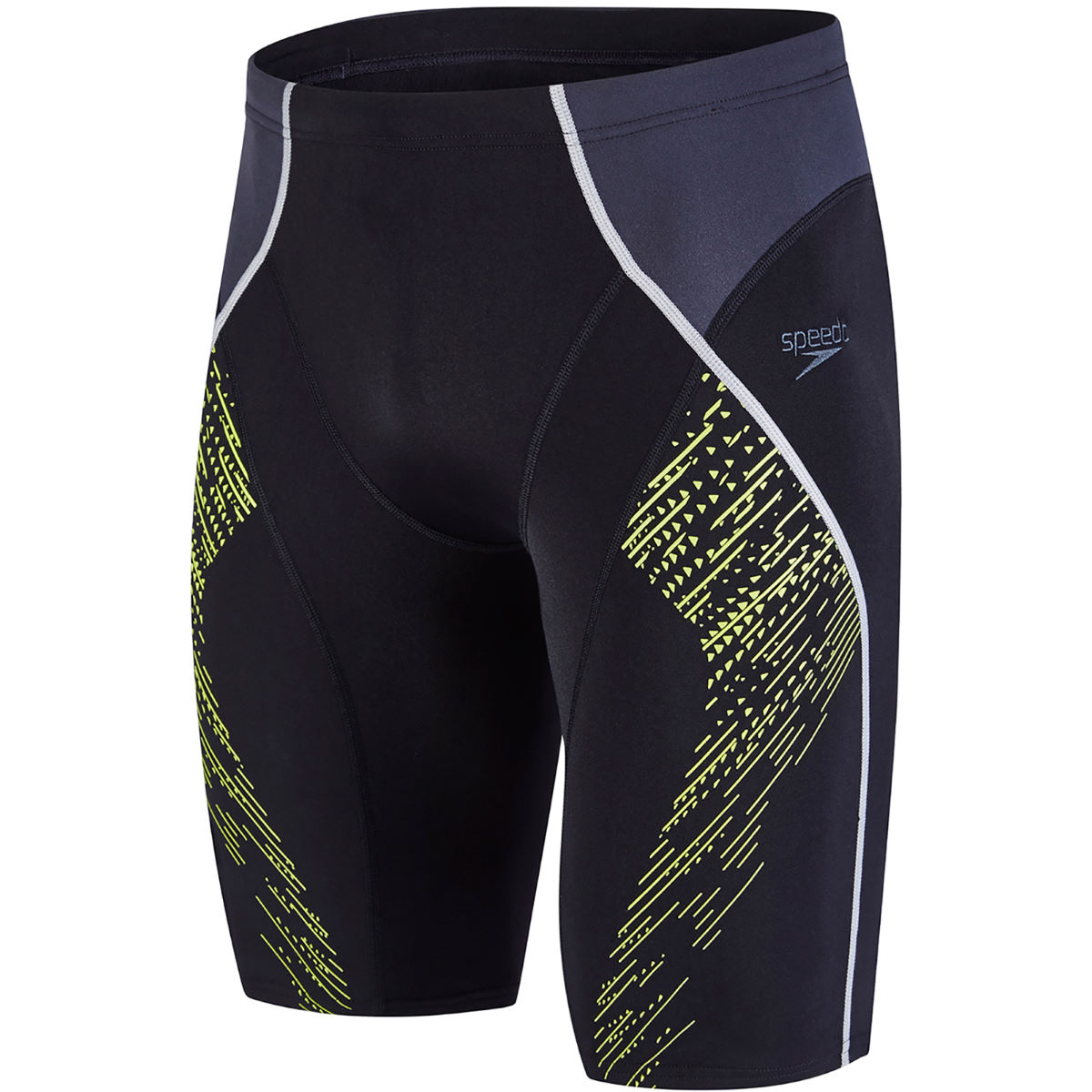 Jammer Speedo Fit Panel - 40 Black/Oxid Grey/Lime