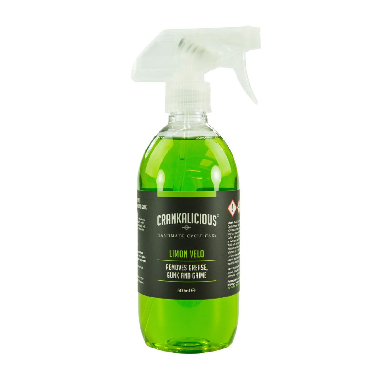 Crankalicious Limon Velo 500ml Degreaser Spray  One Size - Productos de limpieza