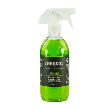 Crankalicious Limon Velo 500ml Degreaser Spray  One Size