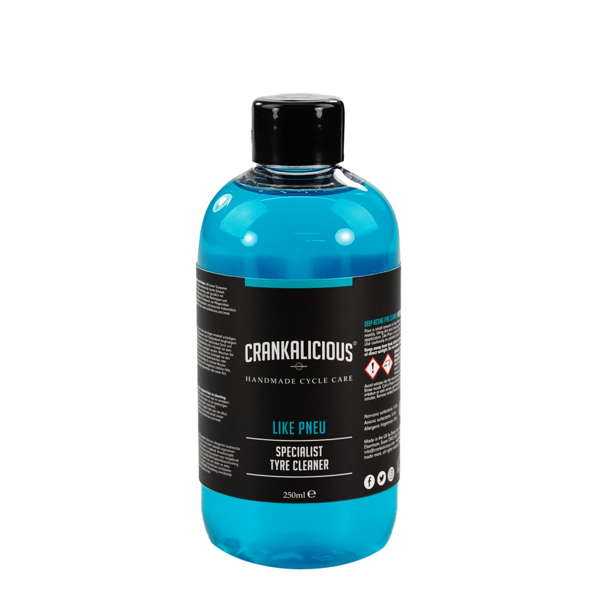Crankalicious Like Pneu 250ml Tyre Cleaner  One Size - Productos de limpieza