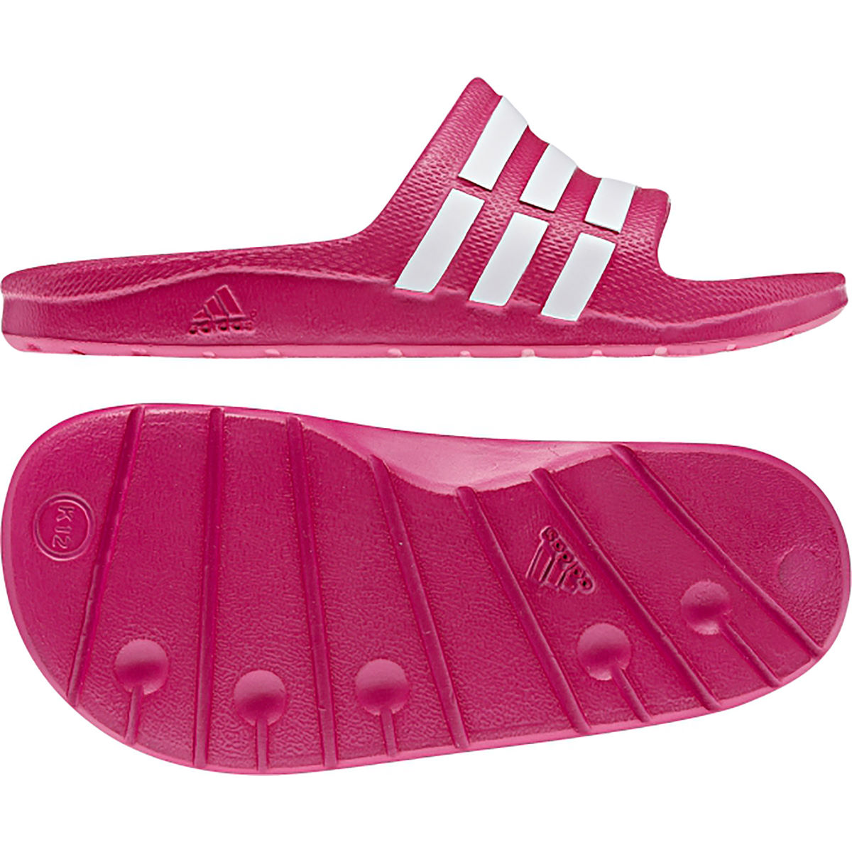 Sandales Enfant Adidas Duramo (rose) - UK 13 Youth Vivid Berry