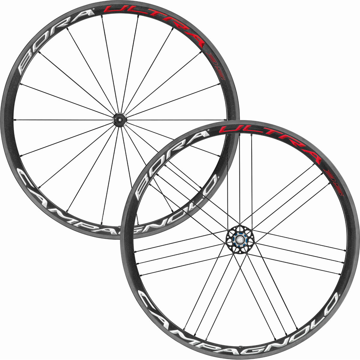 Paire de roues Campagnolo Bora Ultra 35 (2018) - 700c Campagnolo Bright Label Roues performance