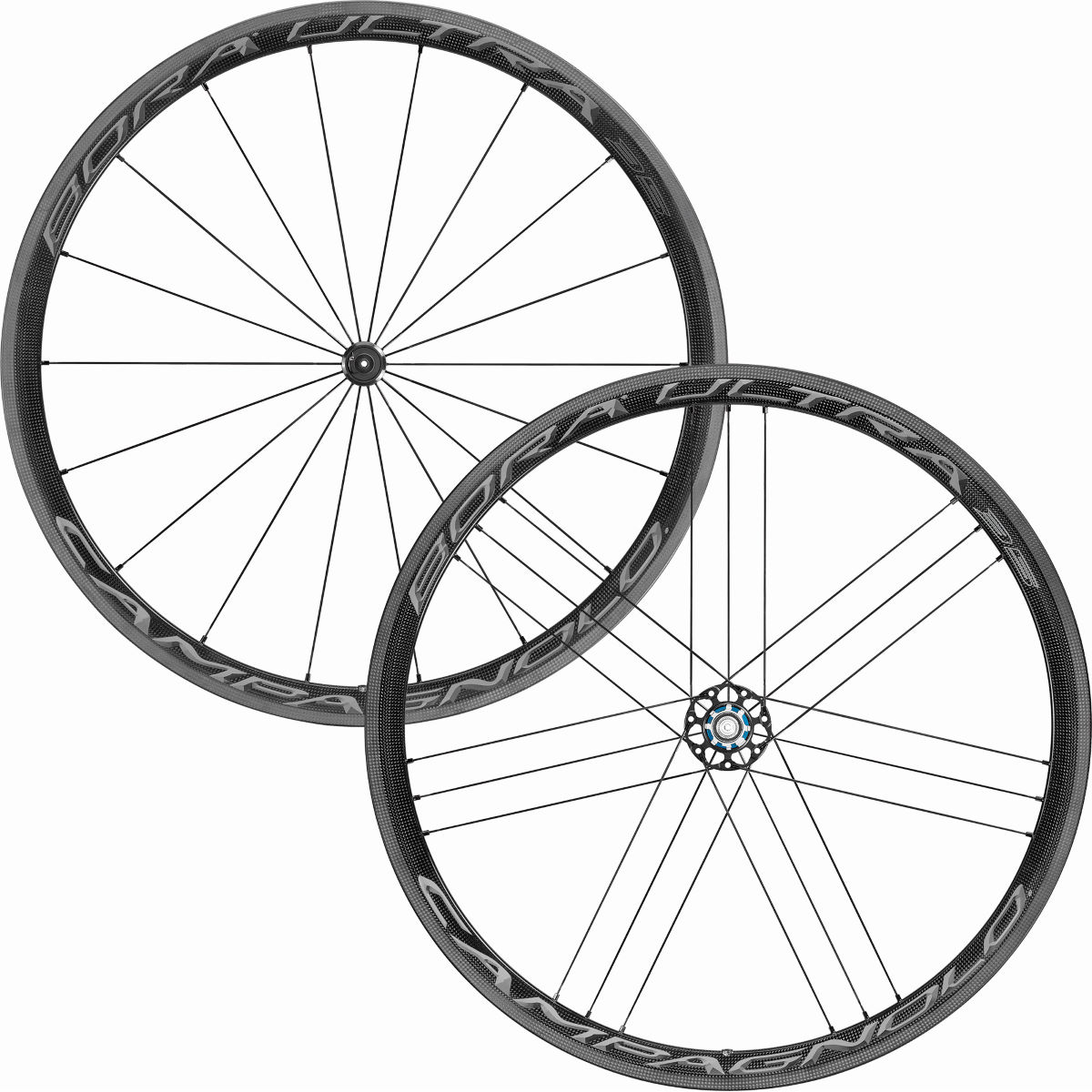 Paire de roues Campagnolo Bora Ultra 35 (2018) - 700c Campagnolo Dark Label Roues performance