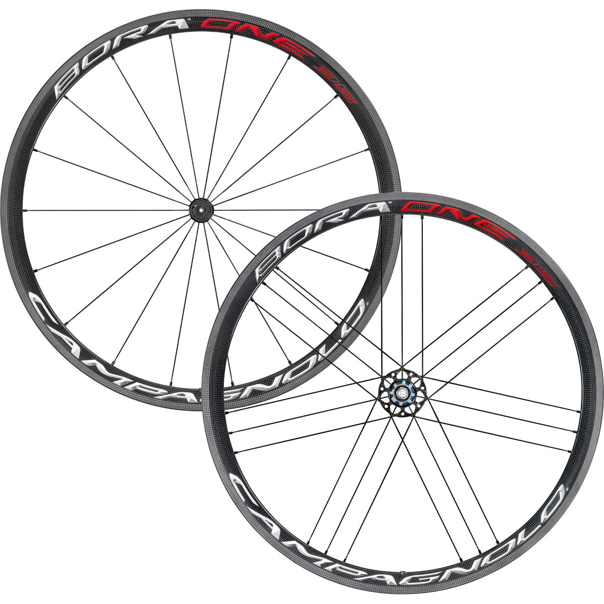 Paire de roues Campagnolo Bora One 35 (2018) - 700c Campagnolo Bright Label Roues performance