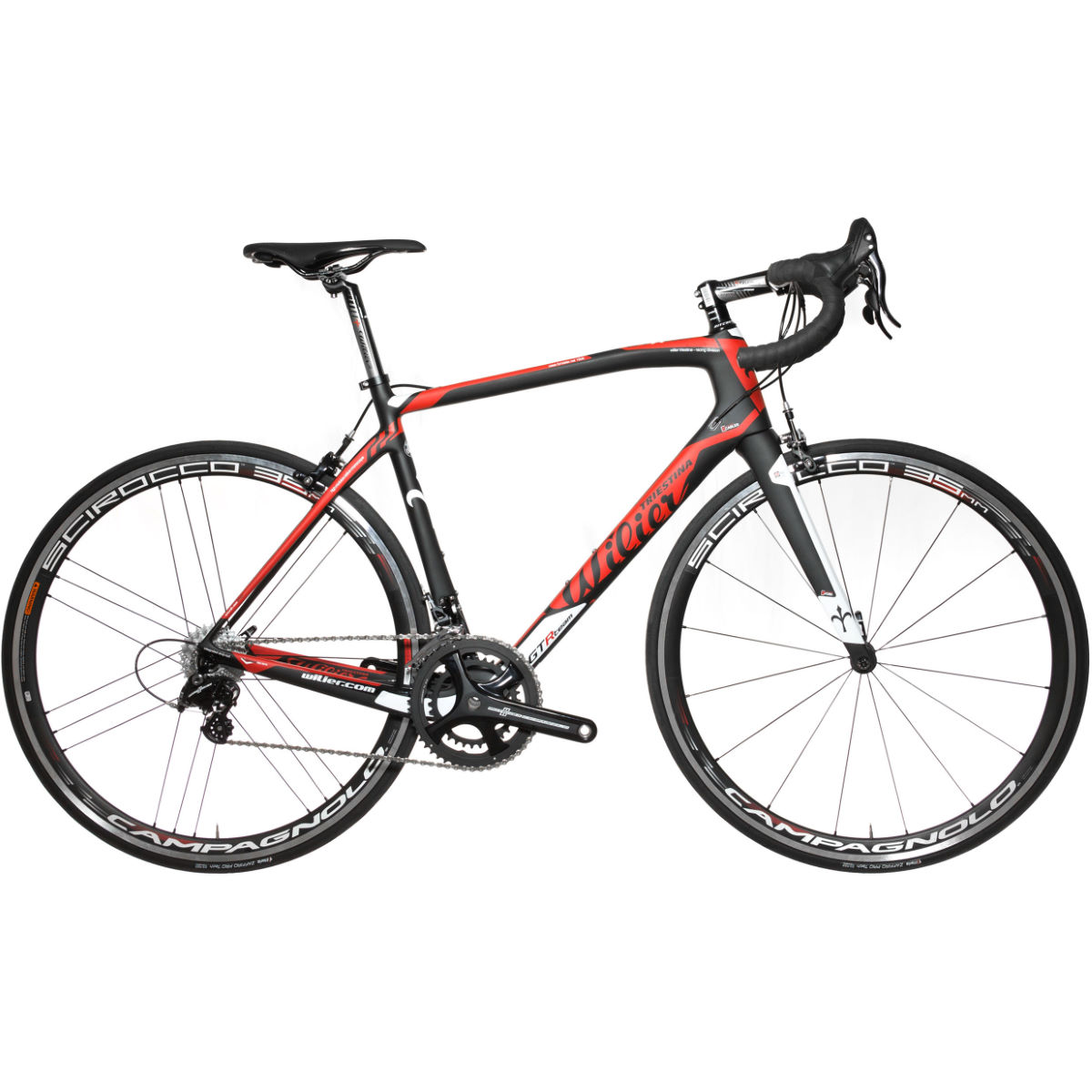 Vélo de route Wilier GTR Team Endurance (Potenza, 2017) - X Large Stock Bike Rouge Vélos de route