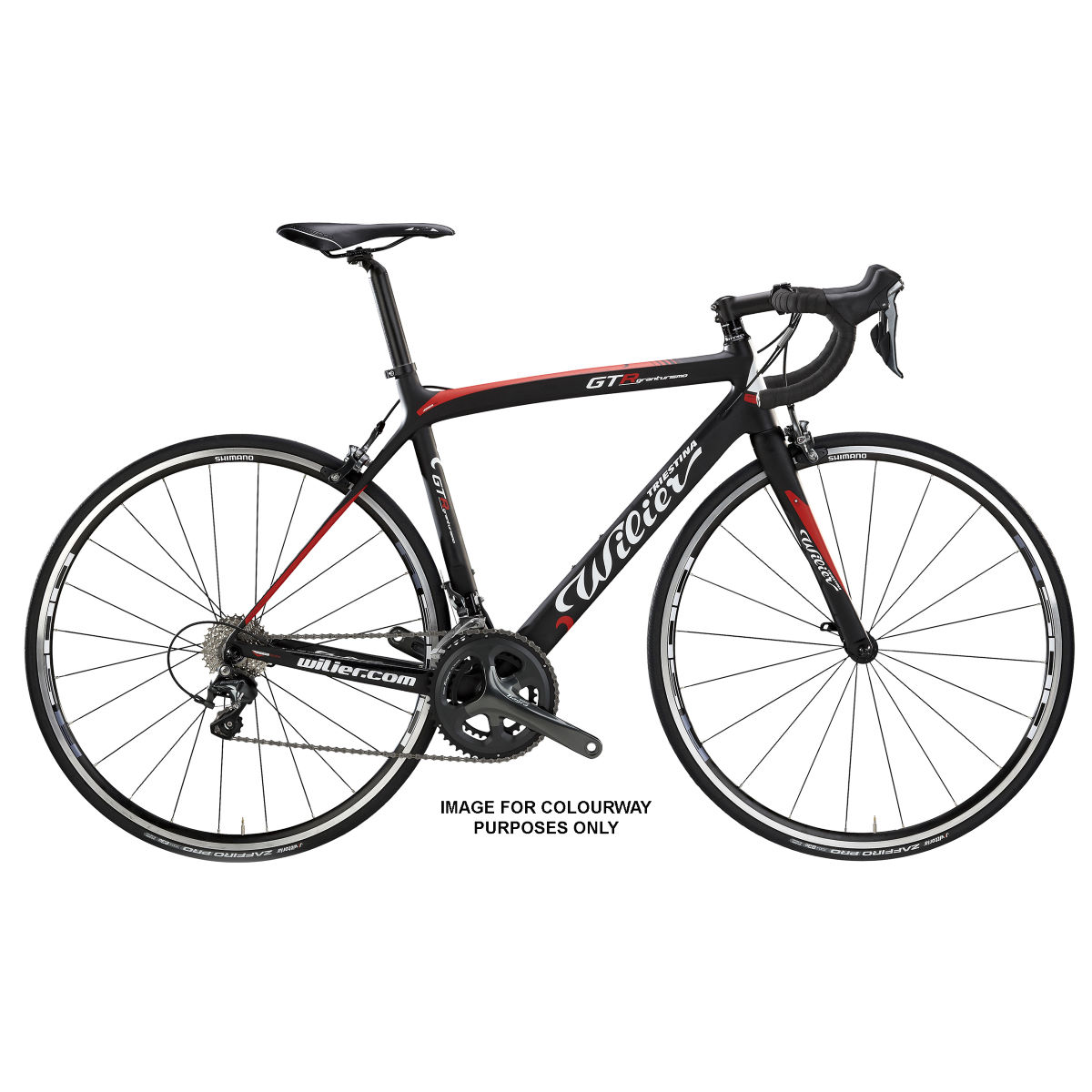 Vélo de route Wilier GTR (Veloce, 2017) - Large Stock Bike Rouge Vélos de route