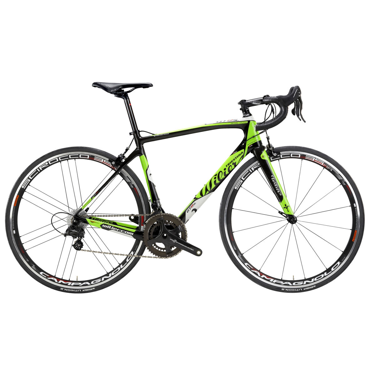 Vélo de route Wilier GTR SL Race (Chorus, 2017) - Medium Stock Bike Vert Vélos de route