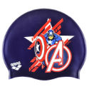 Bonnet de natation Enfant Arena Marvel Captain America Silicone