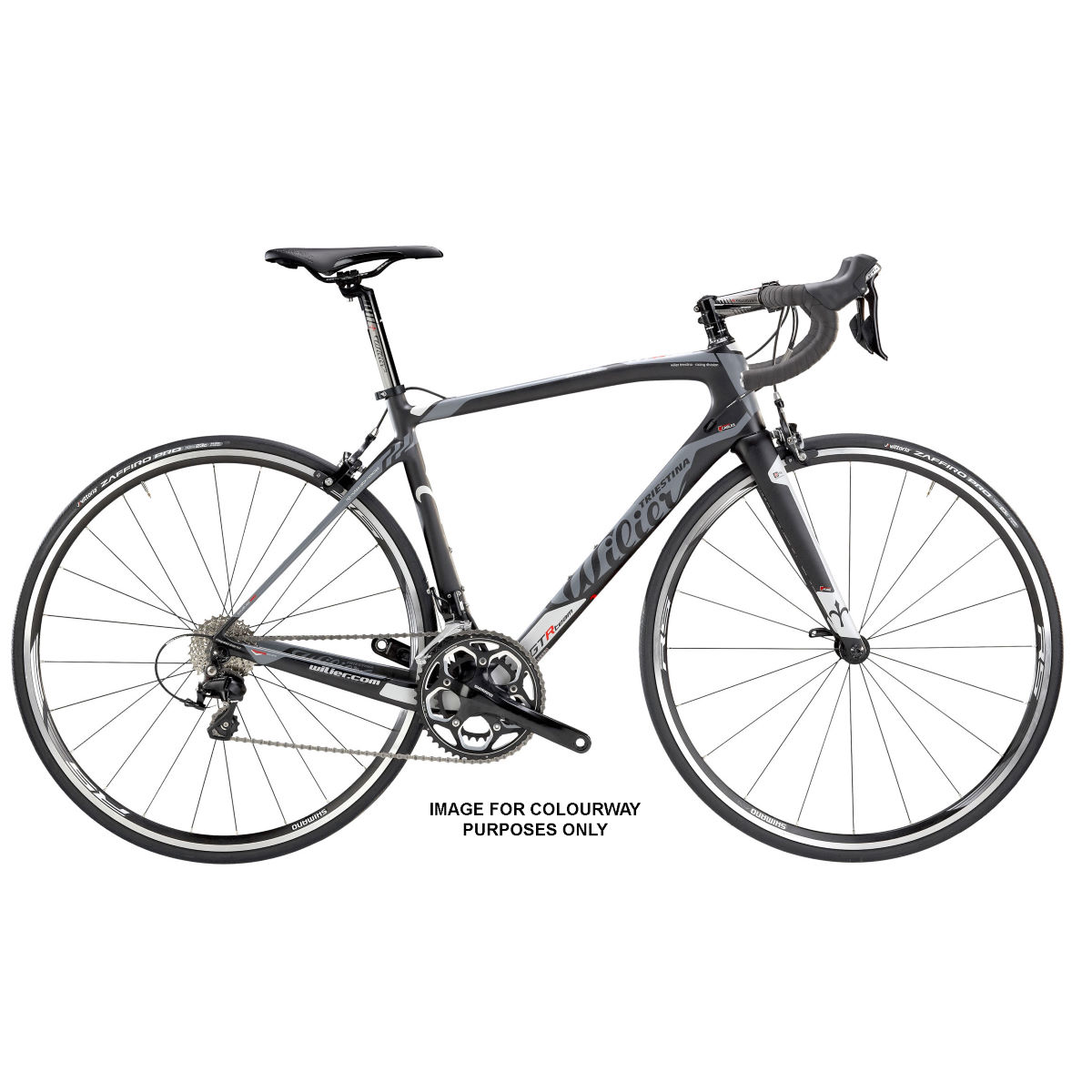 Vélo de route Wilier GTR Team (105, 2016) - X Large Stock Bike Dark Vélos de route