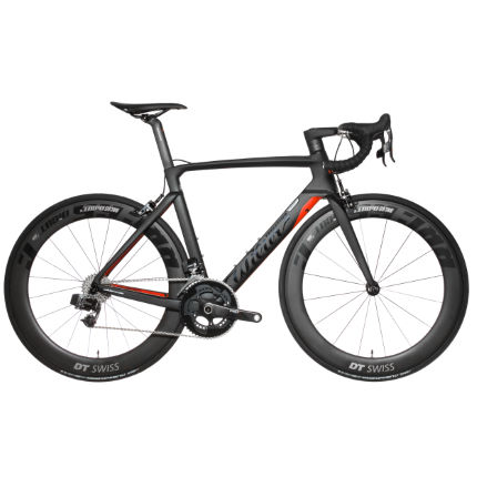 Wilier Cento 10 Air (SRAM Etap - 2018) Road Bike Black/Re