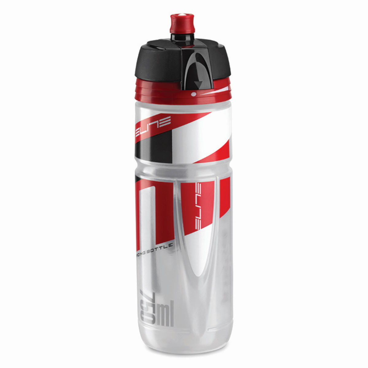 Bidon Elite Superjossanova (750 ml) - Taille unique Clear Logo Red