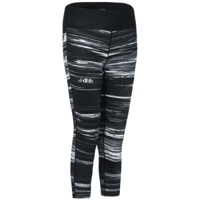 dhb-training-print-capri-laufhose-frauen-stripe-tights