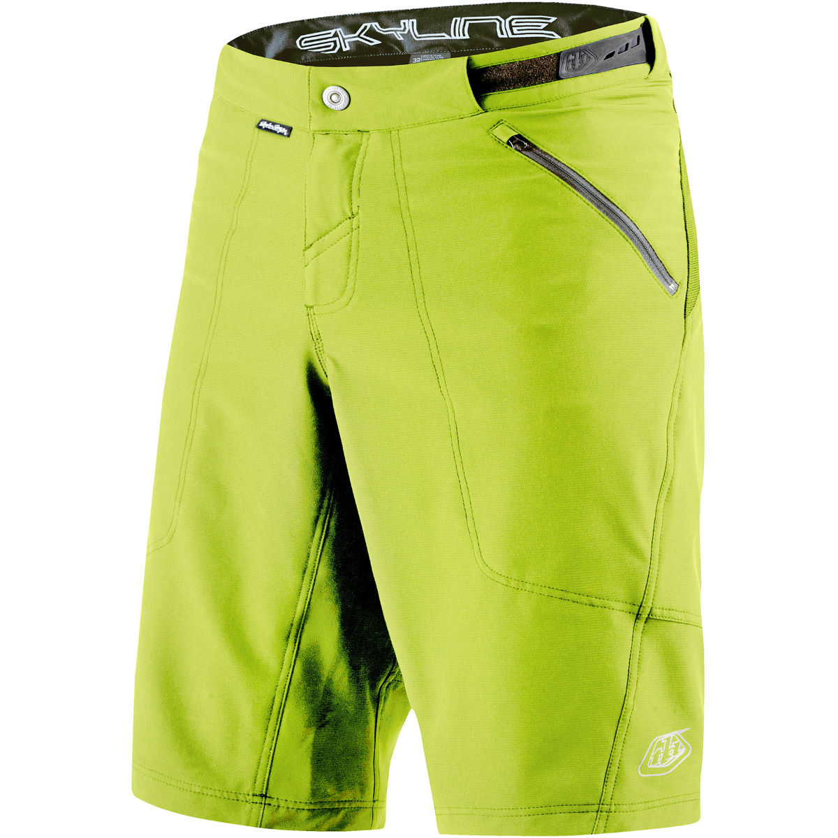 Short Troy Lee Designs Skyline Shell - XL Jaune Shorts amples