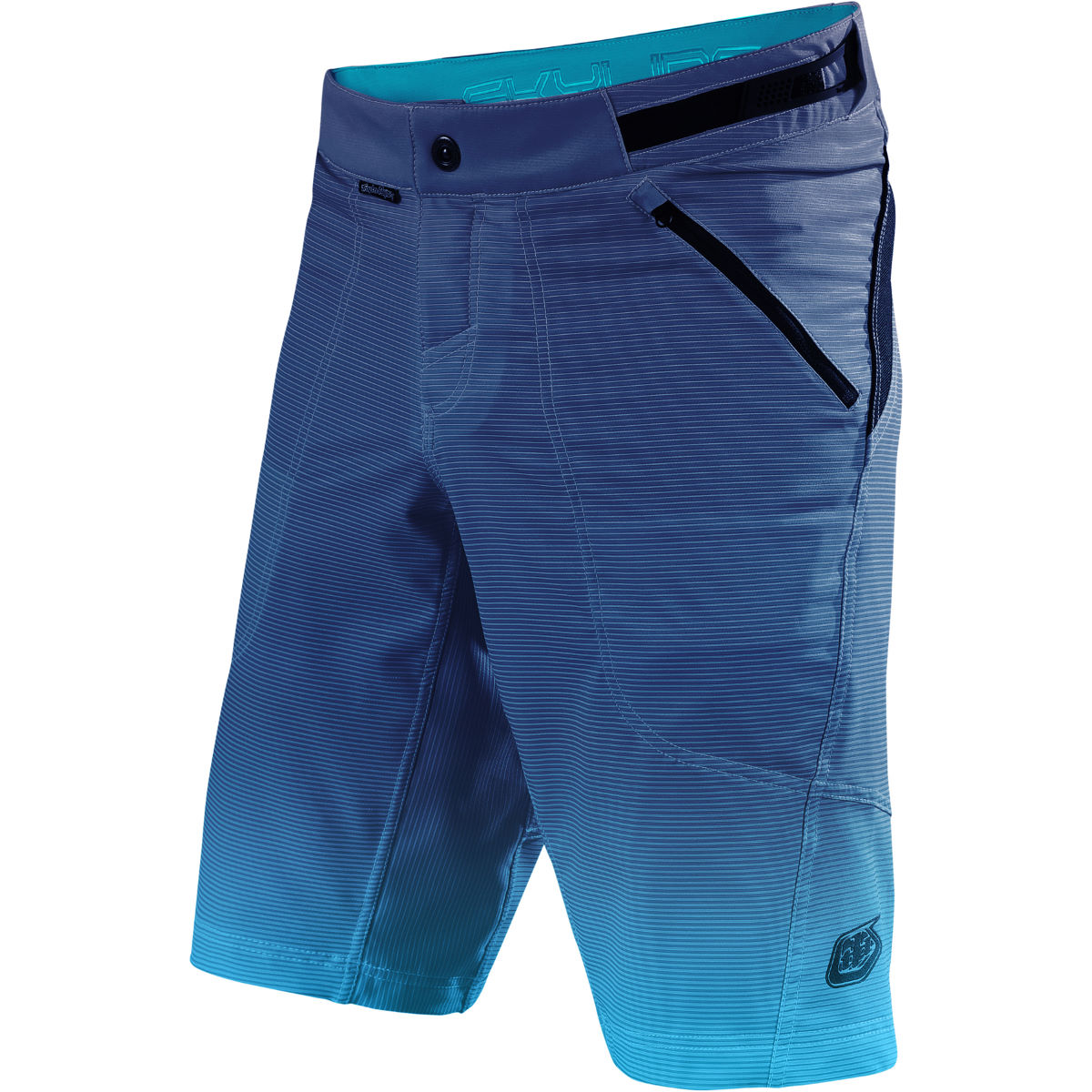 Short Troy Lee Designs Skyline Dissolve (bleu) - 30 Dissolve Blue Shorts VTT