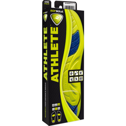 Sof Sole Women's Athlete Insoles