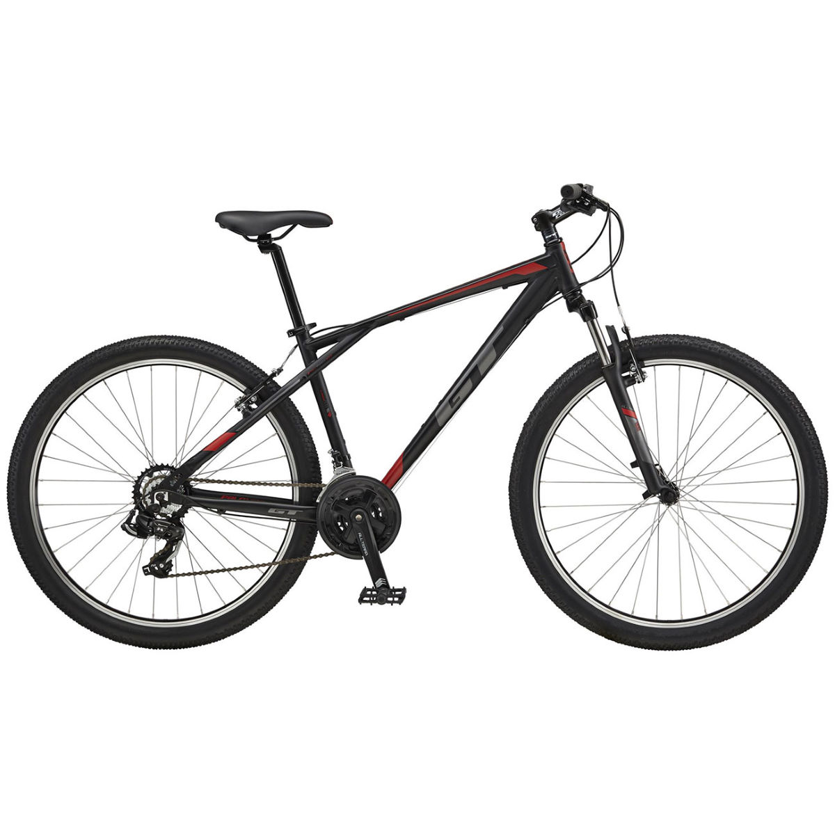 GT Palomar (2017) Mountain Bike - XS Stock Bike Noir VTT semi-rigides