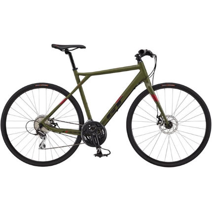GT Grade AL FB Comp (2017) Adventure Road Bike Green