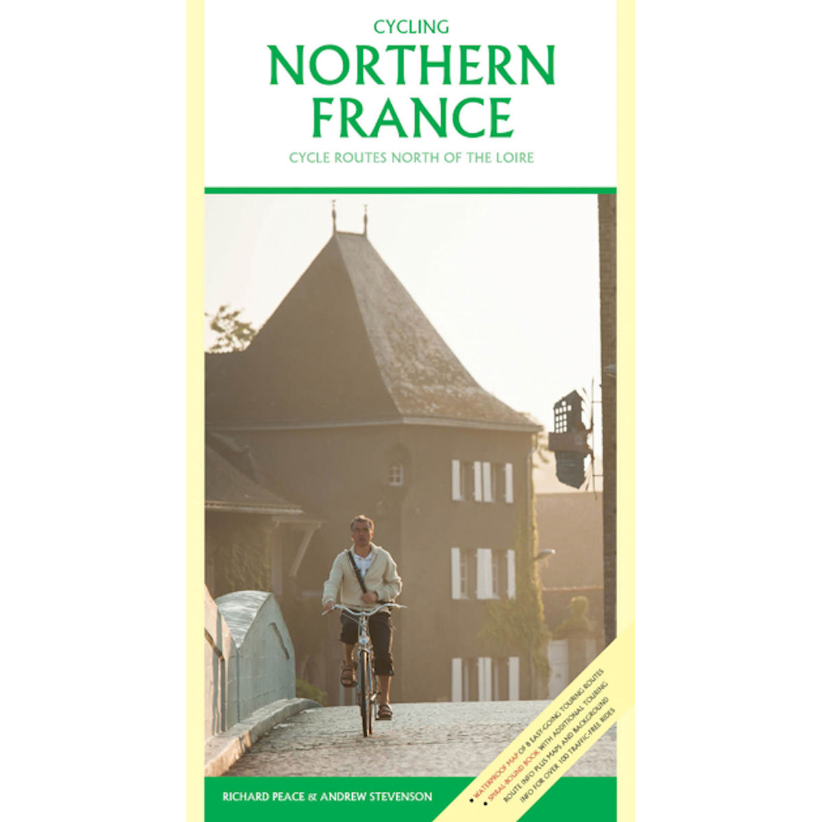 "Libro Cordee ""Cycling Northern France"" (inglés) - Libros"
