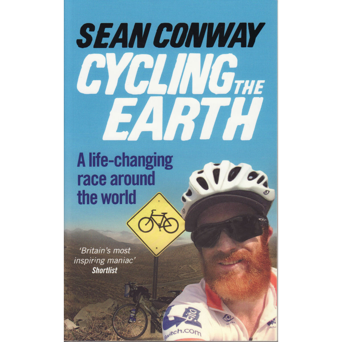 "Libro Cordee ""Cycling the Earth"" - Sean Conway (inglés) - Libros y mapas"