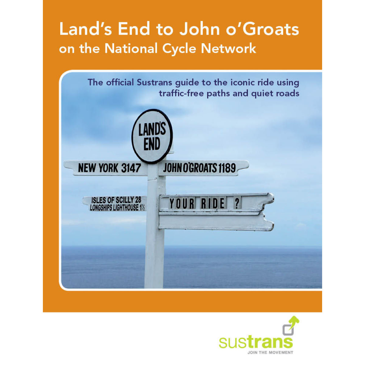 "Libro Cordee ""Land's End to John o'Groats on the National Cycle"" (inglés) - Libros"