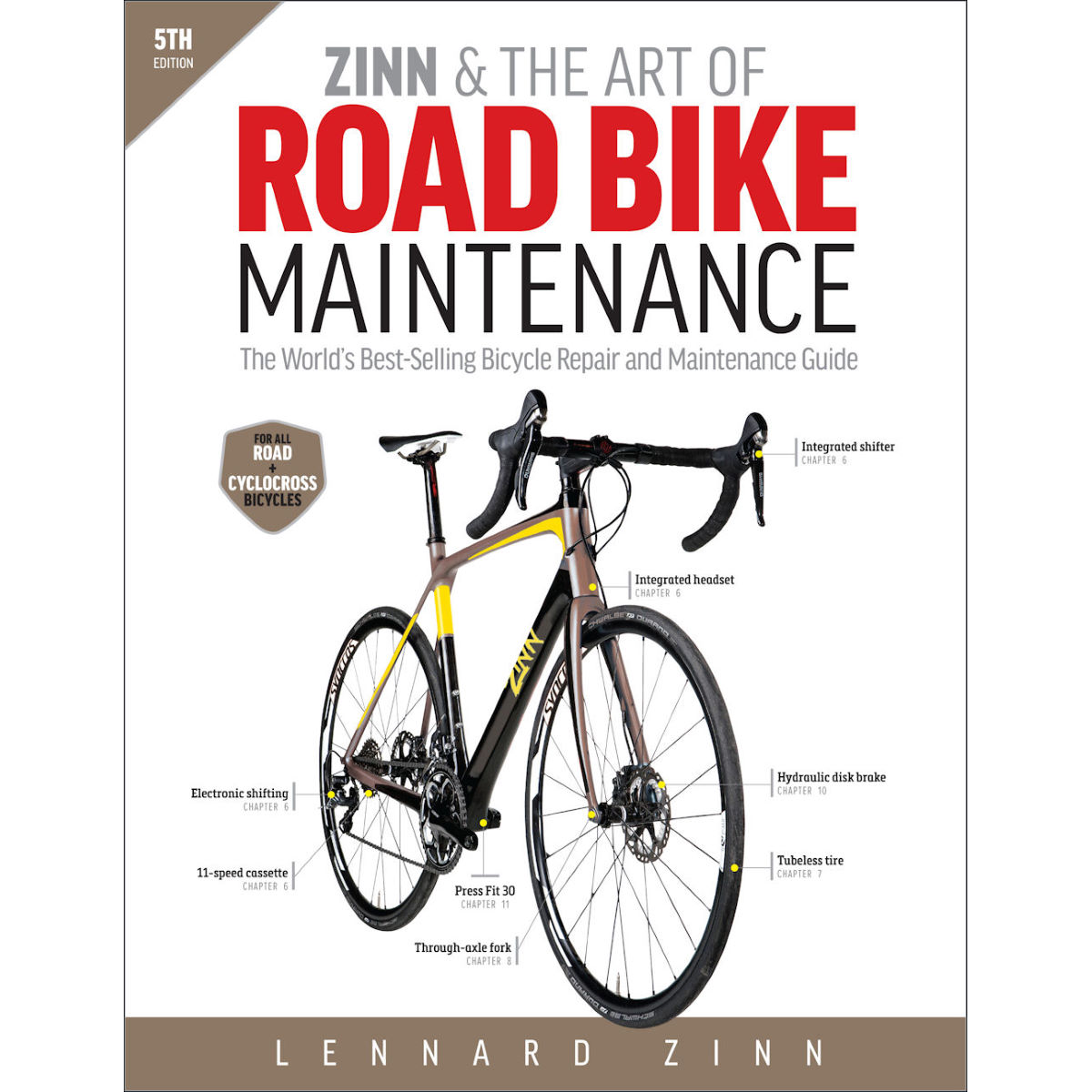 Livre Cordee « Zinn and The Art Of Road Bike Maintenance > (en anglais)