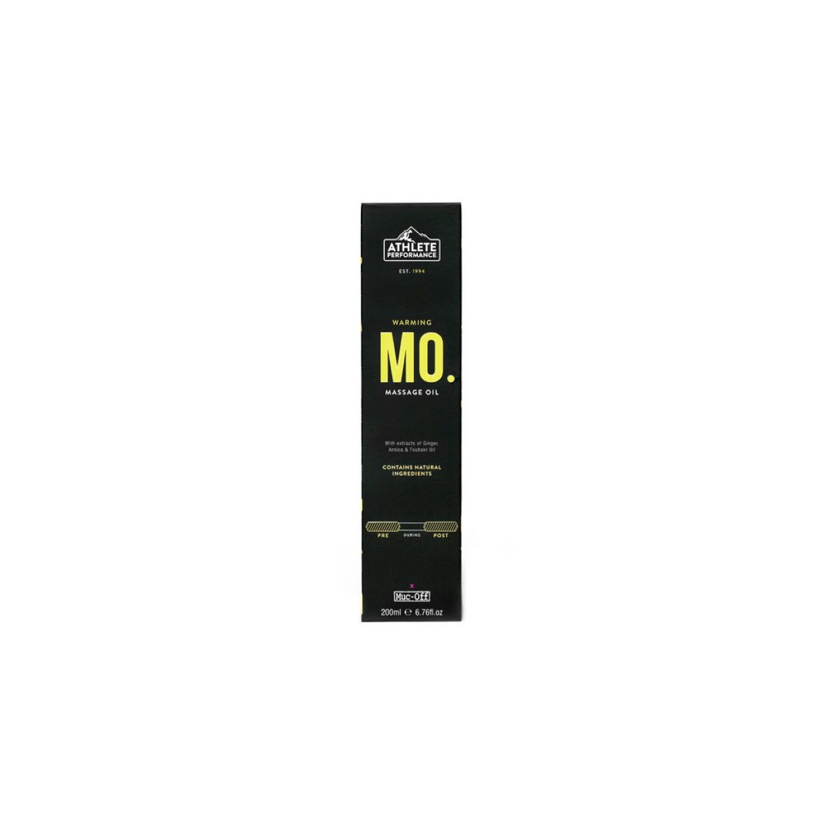 Aceite de masaje Muc-Off Athlete Performance (200 ml) - Cremas musculares