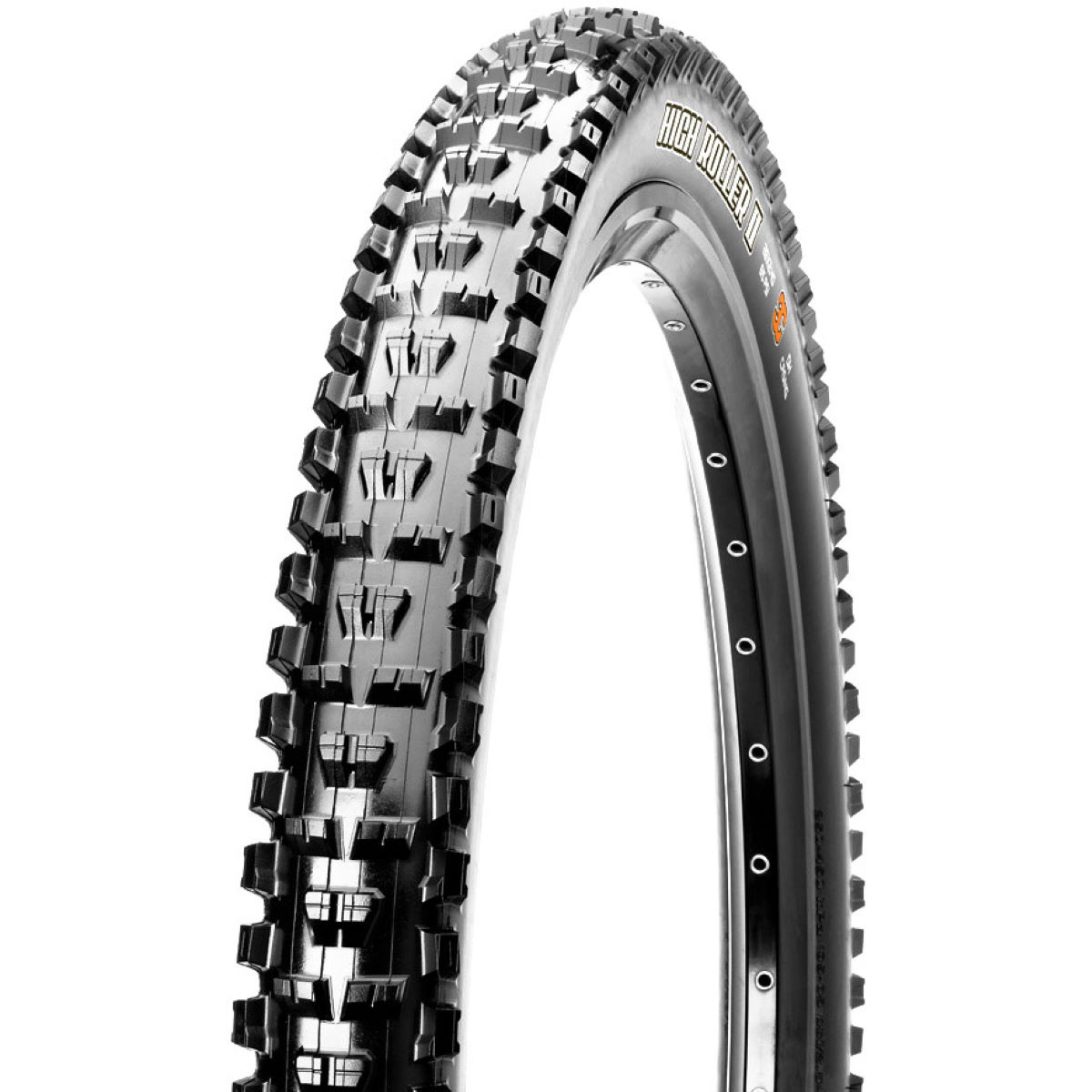 Pneu VTT Maxxis High Roller II Wired - 2.4' 27.5' Noir Pneus