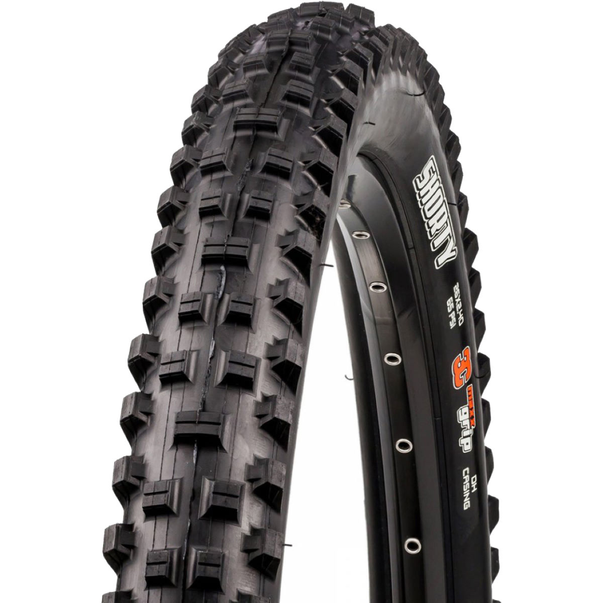 Pneu VTT Maxxis Shorty Wired - 2.4' 26' Noir Pneus